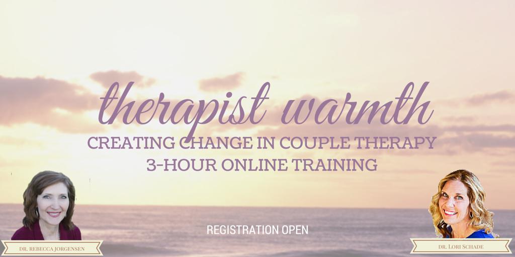 Therapist Warmth Training