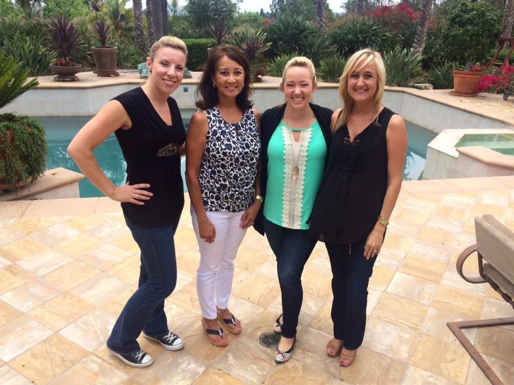 Jennine, Carolyn, Alicia and Jennifer